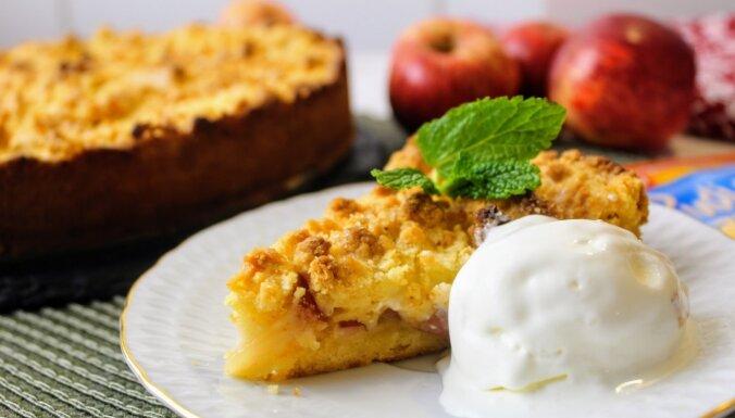 Foto recepte: Vaniļas ābolkūka 'Ziemas sapnis'