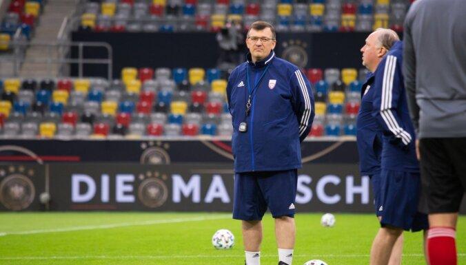 Kazakevičs: spēlē Vācijā tika gūti arī jauni savainojumi
