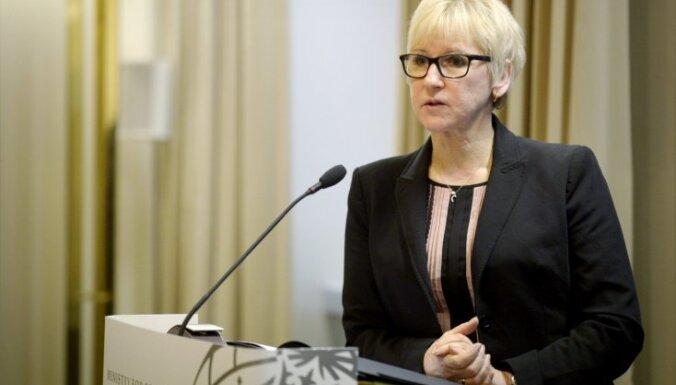 Zviedrijas prokuratūra izmeklē apstākļus, kādos ārlietu ministre ieguvusi dzīvokli