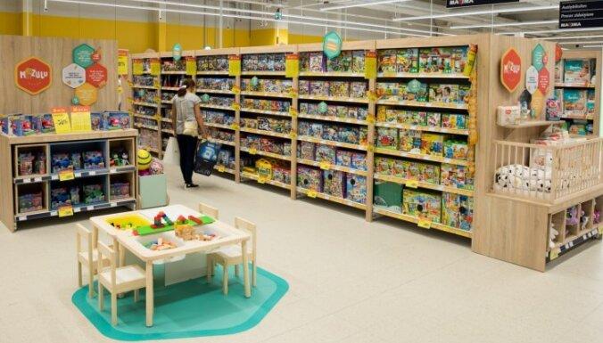 ФОТО: В торговом центре Rīga Plaza на месте Prisma открылся супермаркет Maxima