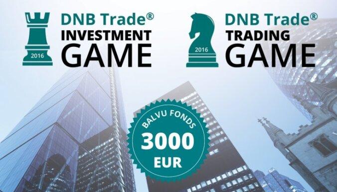 Baltijā lielākā investīciju spēle DNB Trade Investment game ir sākusies