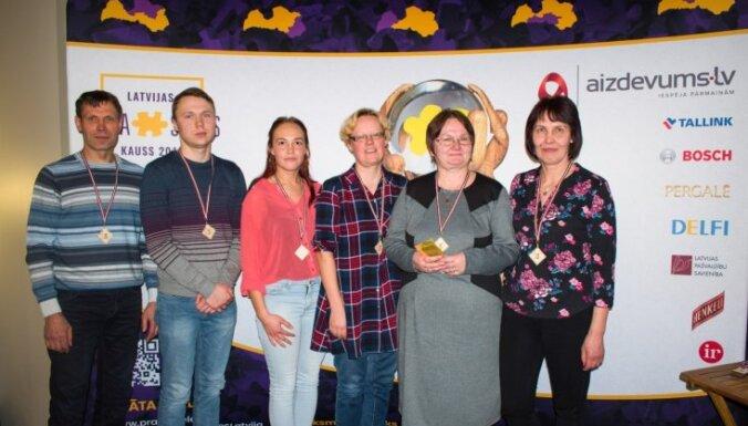 Ar posmu Alūksnē atklāts prāta spēļu turnīrs 'Latvijas kauss 2019'