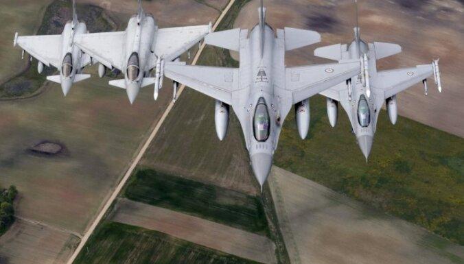 На северо-востоке Германии столкнулись два истребителя Eurofighter