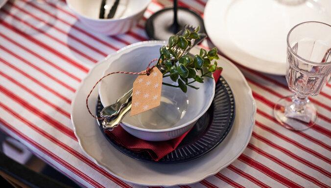 ФОТО. Новогодний стол для одной семьи