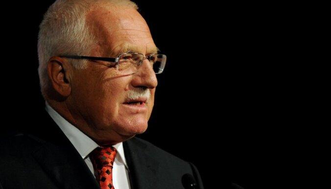 Экс-президент Клаус призвал Чехию к выходу из Евросоюза