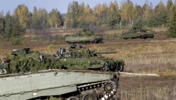 Вечером из Литвы в Латвию проедет военная техника; будут ограничения движения