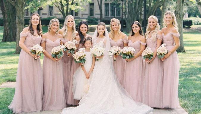ФОТО: Жена латвийского хоккеиста Гиргенсонса показала новые свадебные снимки