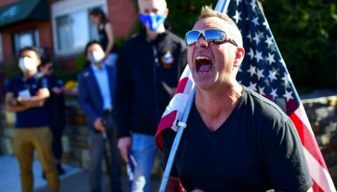 ФОТО: Как американцы встретили победу Байдена на выборах