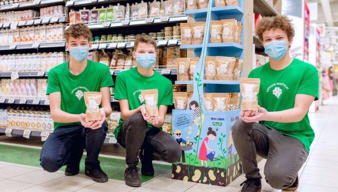 Noslēdzies mazpulcēnu pupiņu audzēšanas projekts – tās nonākušas lielveikalu plauktos