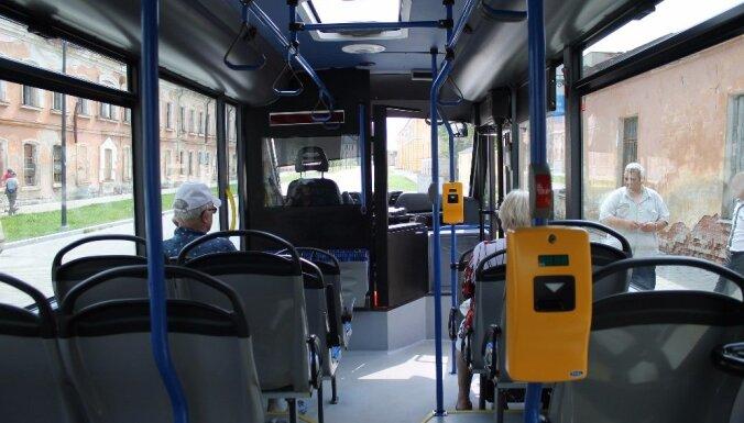 Даугавпилс закупит 45 новых автобусов на сжатом газе