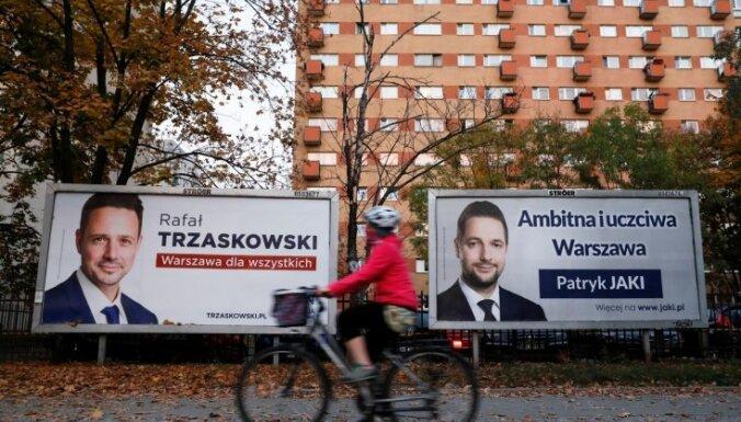 Polijā notiek reģionālās un municipālās vēlēšanas