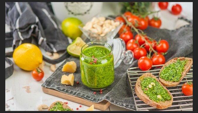 Kale kāpostu pesto recepte
