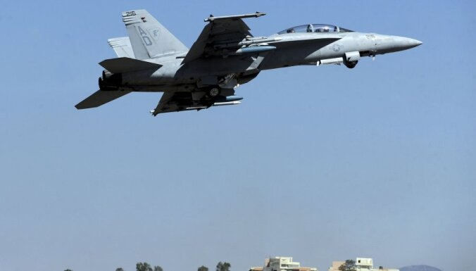Истребитель ВВС США разбился на северо-востоке Великобритании; есть жертвы