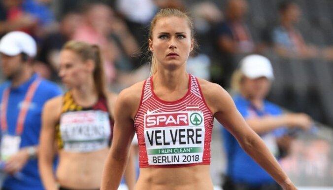 Velverei augstvērtīgākais rezultāts Latvijas čempionāta vieglatlētikā otrajā dienā