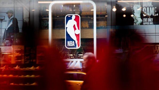 NBA testēšanas otrajā kārtā Covid-19 konstatēts vēl deviņiem basketbolistiem