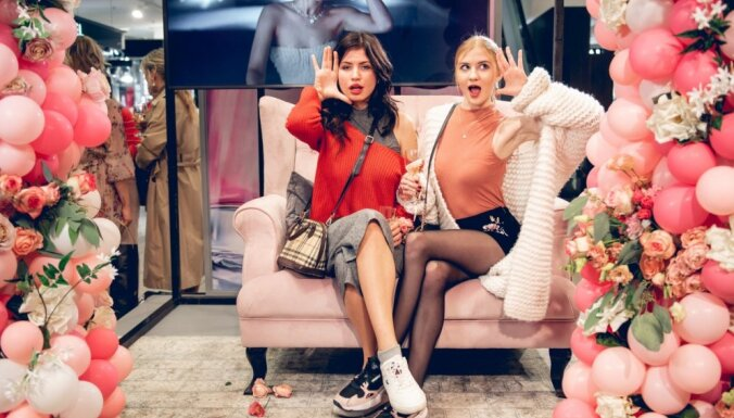 Foto: Sabiedrības dāmas pulcējas 'Dior' smaržu prezentācijā