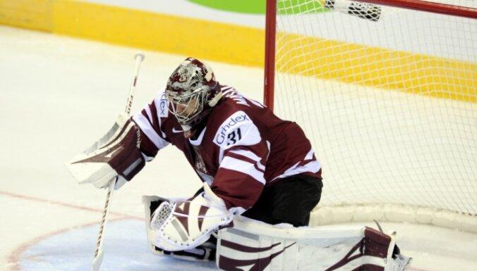 Latvijas hokeja izlase pārbaudes spēlē uzņem Čehijas valstsvienību
