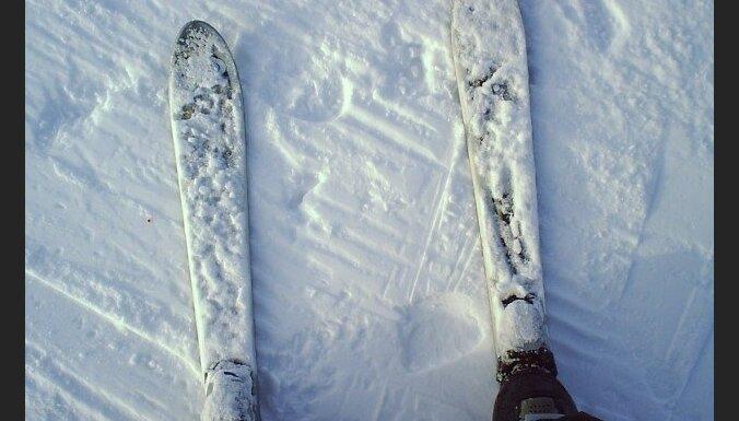 slēpes