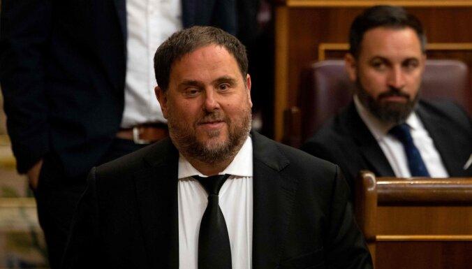 Spānijas tiesa Katalonijas bijušajam vicepremjeram piespriež 13 gadu cietumsodu