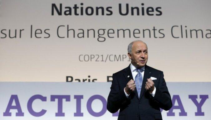 Francijas ārlietu ministrs: Asada atkāpšanās nav obligāta pirms politiskajām pārmaiņām