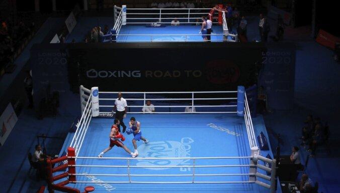 Olimpiskajā atlases turnīrā Londonā ar Covid-19 saslimuši bokseri un treneri