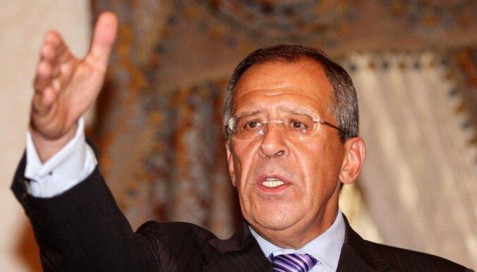 Maskavā pieņem Lībijas līdera Kadafi sūtņus