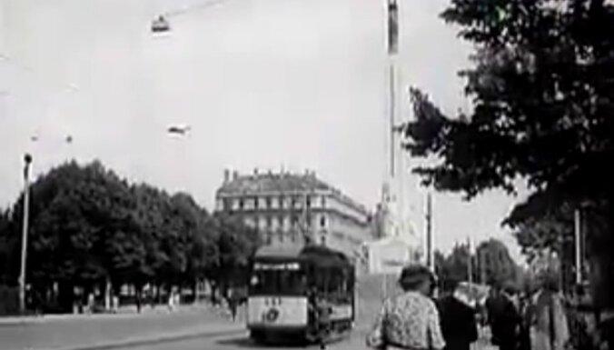 Путешествие во времени: Как центр Риги выглядел летом 1937-го (ВИДЕО)