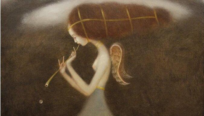 Rīgā skatāma igauņu mākslinieka Eduarda Zentsika izstāde 'Dvēsele'