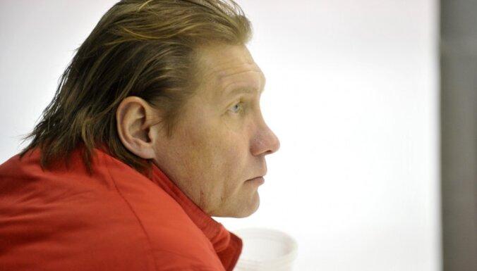 No Latvijas hokeja izlases atskaitīts jaunais uzbrucējs Lazarevs