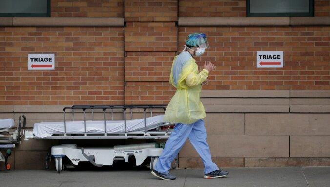 Ņujorkā konstatēts jauns rekordaugsts Covid-19 izraisīto nāves gadījumu skaits
