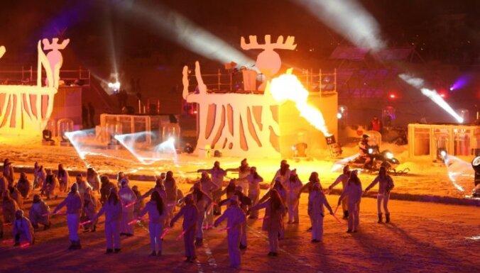 Ledus, uguns un māksla: Ūmeo atklāts Eiropas kultūras galvaspilsētas gads