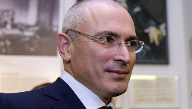 Ходорковский запросил визу в Швейцарию