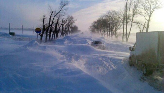 ФОТО: Ростов-на-Дону почти полностью завалило снегом