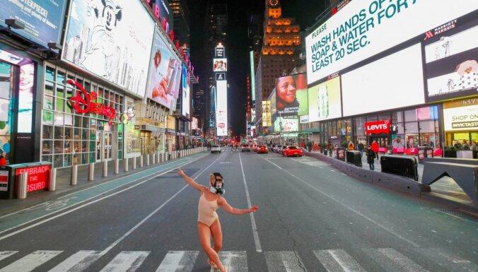 ФОТО. Коронавирус превратил Нью-Йорк в город-призрак