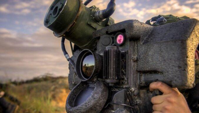 ASV apstiprina prettanku raķešu 'Javelin' pārdošanu Ukrainai