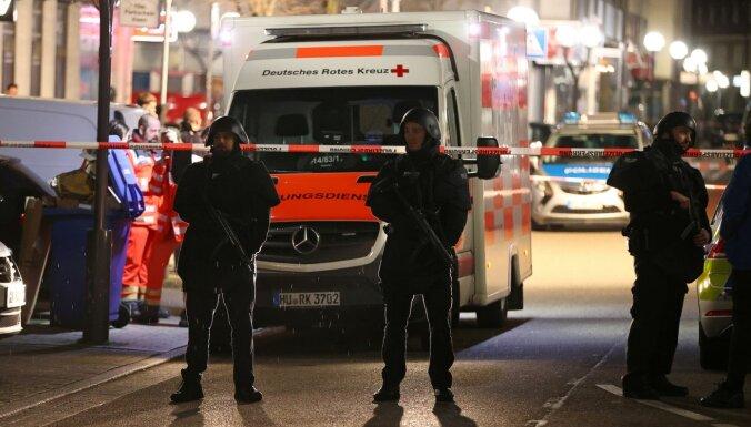 Apšaudēs Vācijas pilsētā nogalināti astoņi cilvēki; iespējamais šāvējs miris