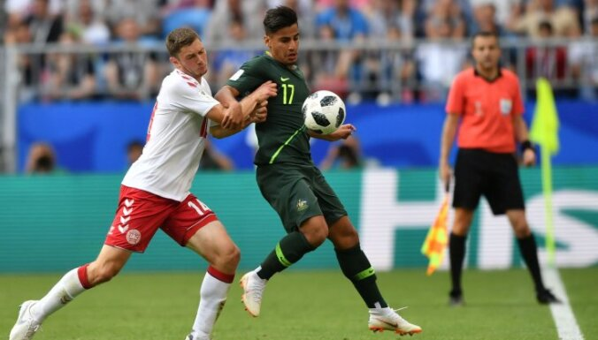 Франция вышла в плей-офф ЧМ, Австралия прервала сухую серию датчанина Шмейхеля