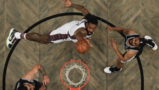'Nets' jaunā trenera debijas spēlē uzvar; Kurucs laukumā nedodas