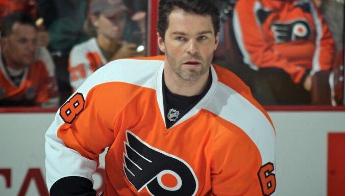 Ягр впервые сыграл в Питтсбурге после возвращения в НХЛ