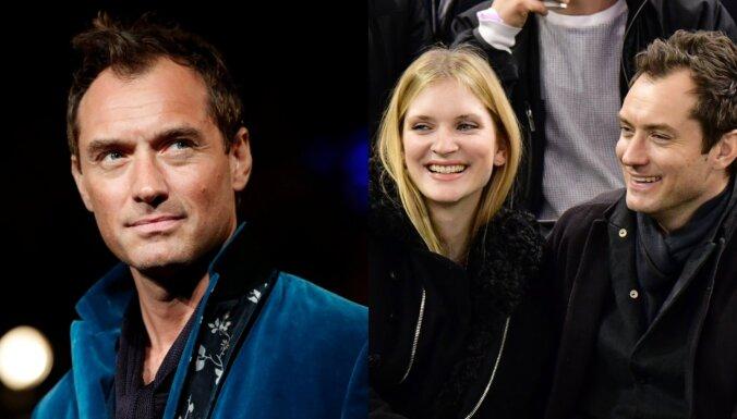Aktieris Džūda Lovs būs sešu bērnu tēvs
