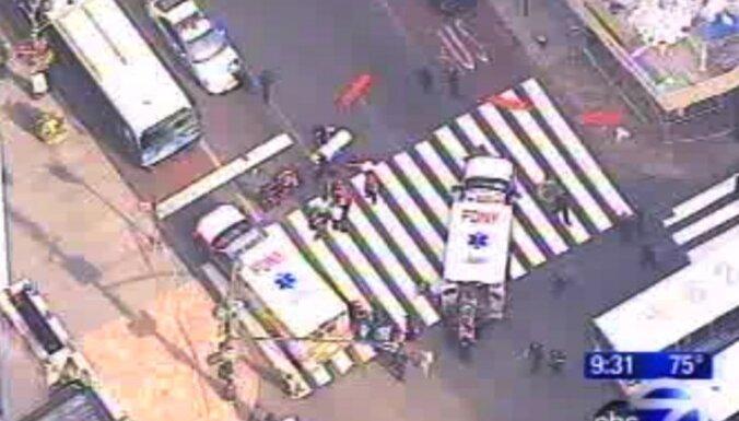 Полиция: стрельбу в Нью-Йорке открыл уволенный дизайнер (видео происшествия)