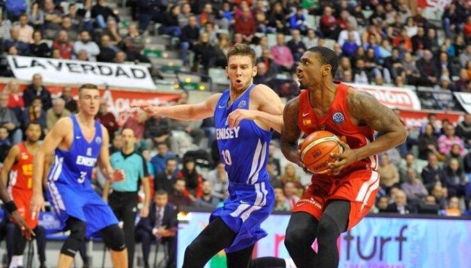 Meiers debijā 'Jeņisej' rindās gūst 17 punktus FIBA Čempionu līgā