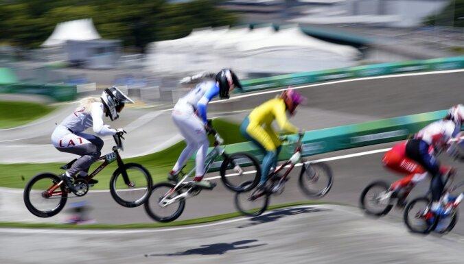 Tokijas vasaras olimpisko spēļu rezultāti BMX riteņbraukšanā (30.07.2021)