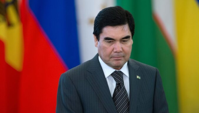 Latviju apmeklē Turkmenistānas prezidents