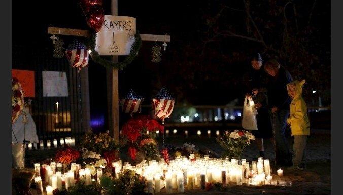 Apšaudi Kalifornijā ASV varas iestādes izmeklē kā teroraktu