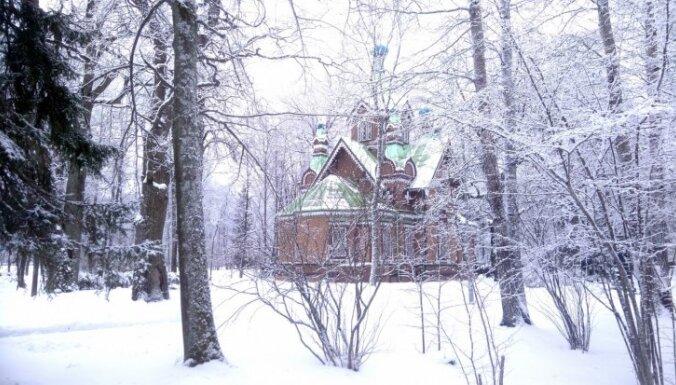 ФОТО: Кемерский парк превратился в зимнюю сказку. И он всего в часе езды от Риги!