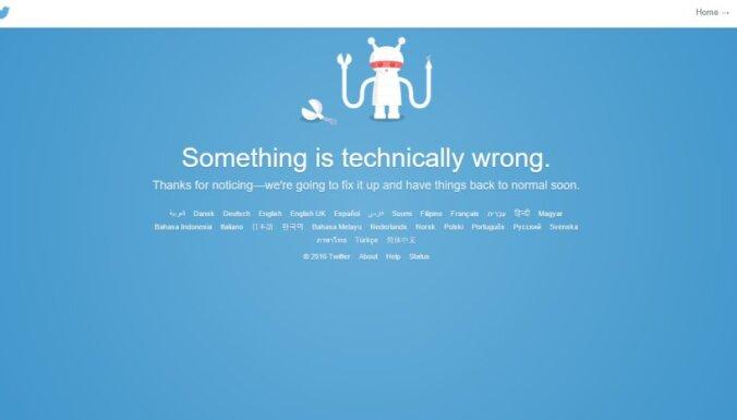 Сервис Twitter перестал работать по всему миру