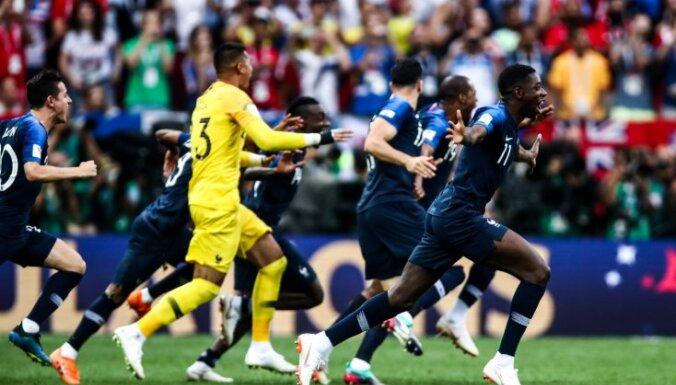Франция обыграла Хорватию в финале с шестью голами и взяла Кубок мира