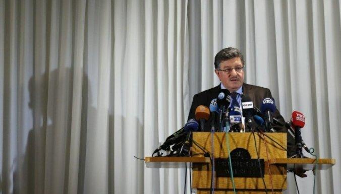 Sīrijas opozīcija ieradusies uz miera sarunām Ženēvā