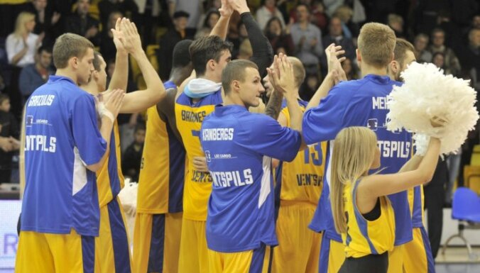 'Ventspils' basketbolisti LBL mačā sagrauj LU komandu